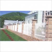 PVC新型环保护栏-PVC护栏-社区园林护栏