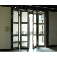 传统型折叠门,双机型折叠门