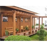 美墅美庭炭化木花架
