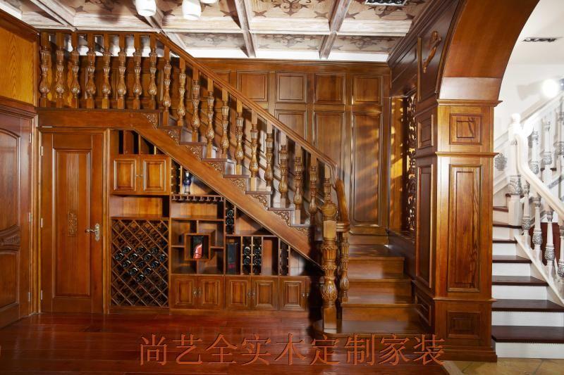 诚招实木楼梯代理加盟(中国楼梯品牌—尚艺名梯);; 家装护墙板效果图图片