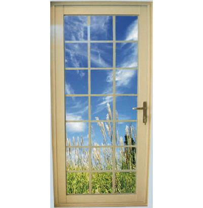 成都京成门窗-50平开门-塑钢门