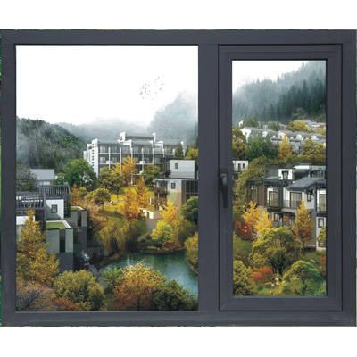 成都京成门窗-TT60A平开窗-铝合金窗