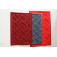 PVC拉绒压花复合地毯 PVC地毯价格 地毯图片