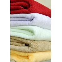 竹纤维彩条高档浴巾武汉厂家直供专卖店产品
