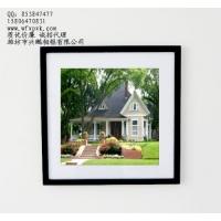 大兴实木相框 方框40cm×40cm木制相框 家居装饰品