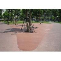木塑地板材料、塑木地板型材