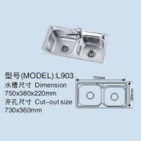 贵族卫浴-不锈钢水槽-GZ-l903a