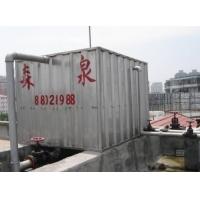 成都森泉波纹水箱展示
