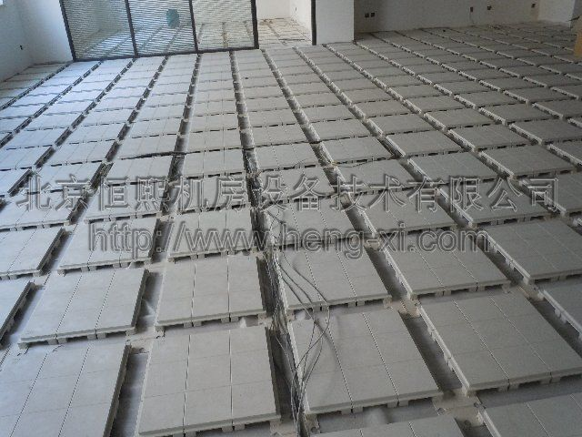 平铺网络地板厂家北京网络地板定做恒熙010-62041888