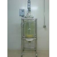 上海岐昱玻璃固相反应釜玻璃仪器气流烘干器的特点