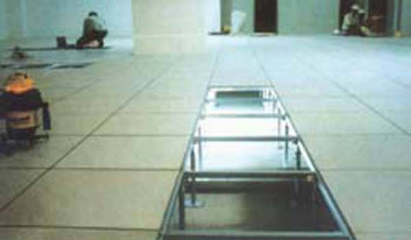 中山学校机房抗静电架空地板|医院防静电地坪