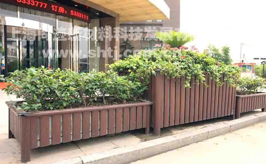 中式景观小品|移动花坛|铝合金花坛图片