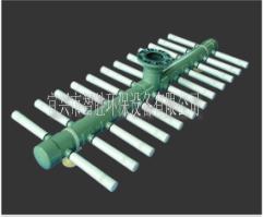 62卧式集水器是浅层过滤器系统的一个组件,通过滤器支管上开有精密缝隙,能有有效防止滤料流失。过滤器的支管排布成圆形表面,与罐体圆形结构相吻合,可最大面积的收集已过滤水