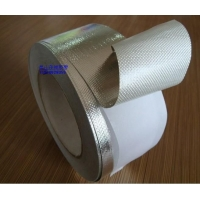 铝箔网格布胶带 阻燃铝箔胶带