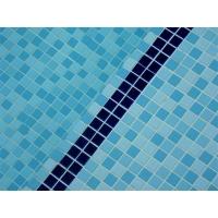 泳池马赛克拼图订做 可靠水晶玻璃马赛克现货