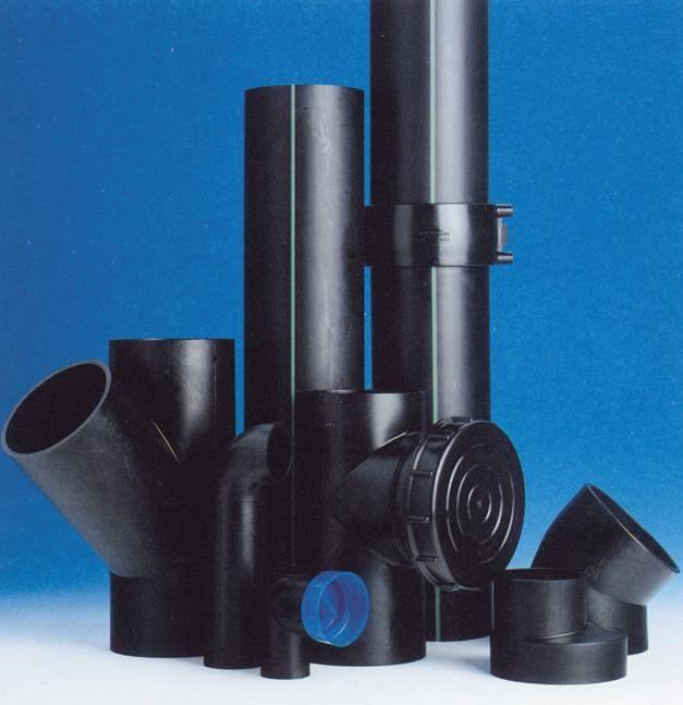 应 PE 虹吸管件 同层排水管件 HDPE