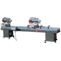 铝塑型材双角切割锯床供应塑钢设备 ||品牌塑钢机品牌|| 塑