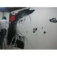 卡西娅灵动彩绘幼儿园手绘墙彩绘背景墙