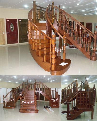 昌平木楼梯厂 实木楼梯