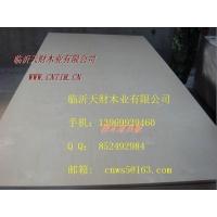 供应临沂18mm漂白杨木/桦木/健毒贴面橱柜用胶合板