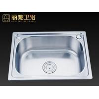丽驰卫浴水槽系列一体成型304不锈钢