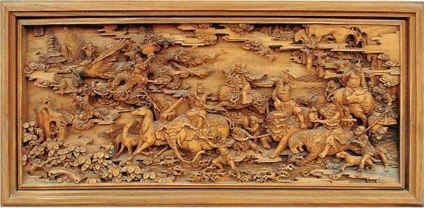 欧式木雕花板效果图