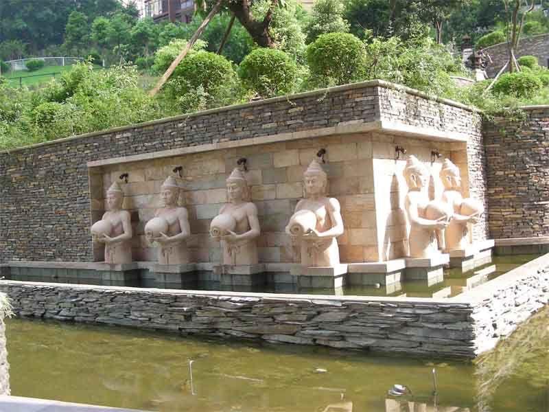 地产小区雕塑小品 - 重庆雕塑 重庆大龙景观雕塑设计