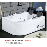 白色豪华按摩浴缸