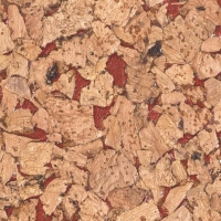 耐适佳—软木墙板系列—红色雕塑