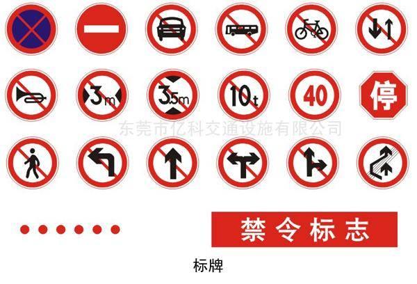 道路标示牌批发,厂家批发圆形标志牌,禁止标示牌