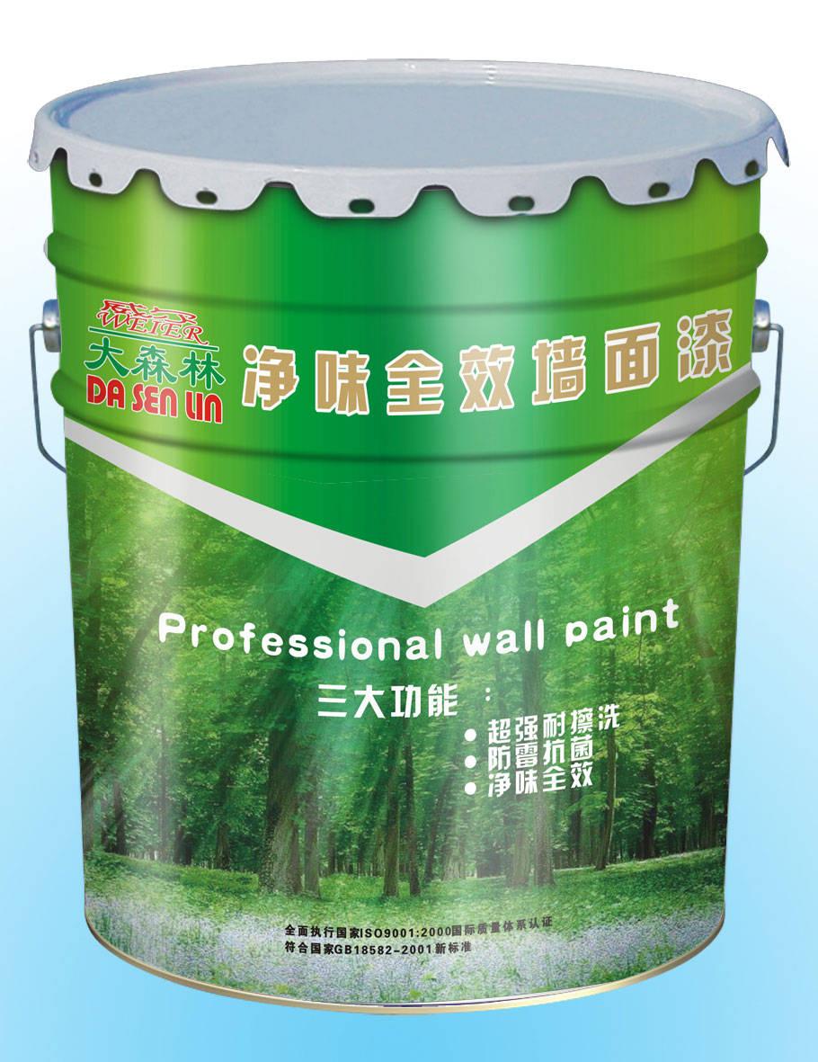 净味抗污墙面漆