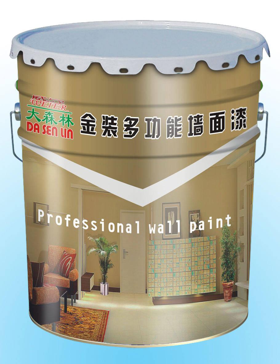 清新净味多功能墙面漆