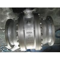 不銹鋼固定球閥 大口徑不銹鋼固定球閥