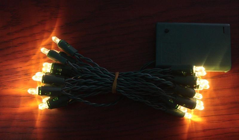 LED电池灯