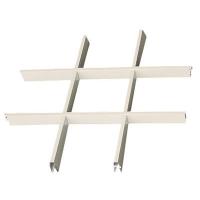 雅颖斯吊顶-铝合金格栅系列-铝合金白格栅