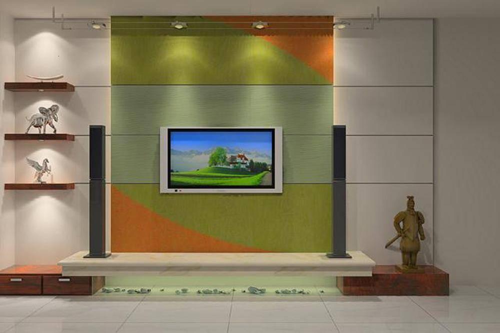 电视机背景 - 第三墙壁纸 - 九正建材网(中国建材第一