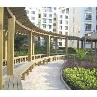 供應南京防腐木廊架訂做安裝工程