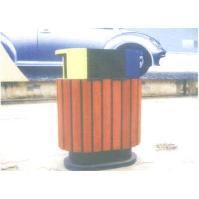 安徽优质防腐木垃圾箱