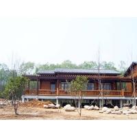 美华防腐木材(进口木材)-木屋