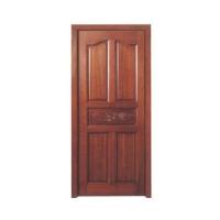 集成实木装板门