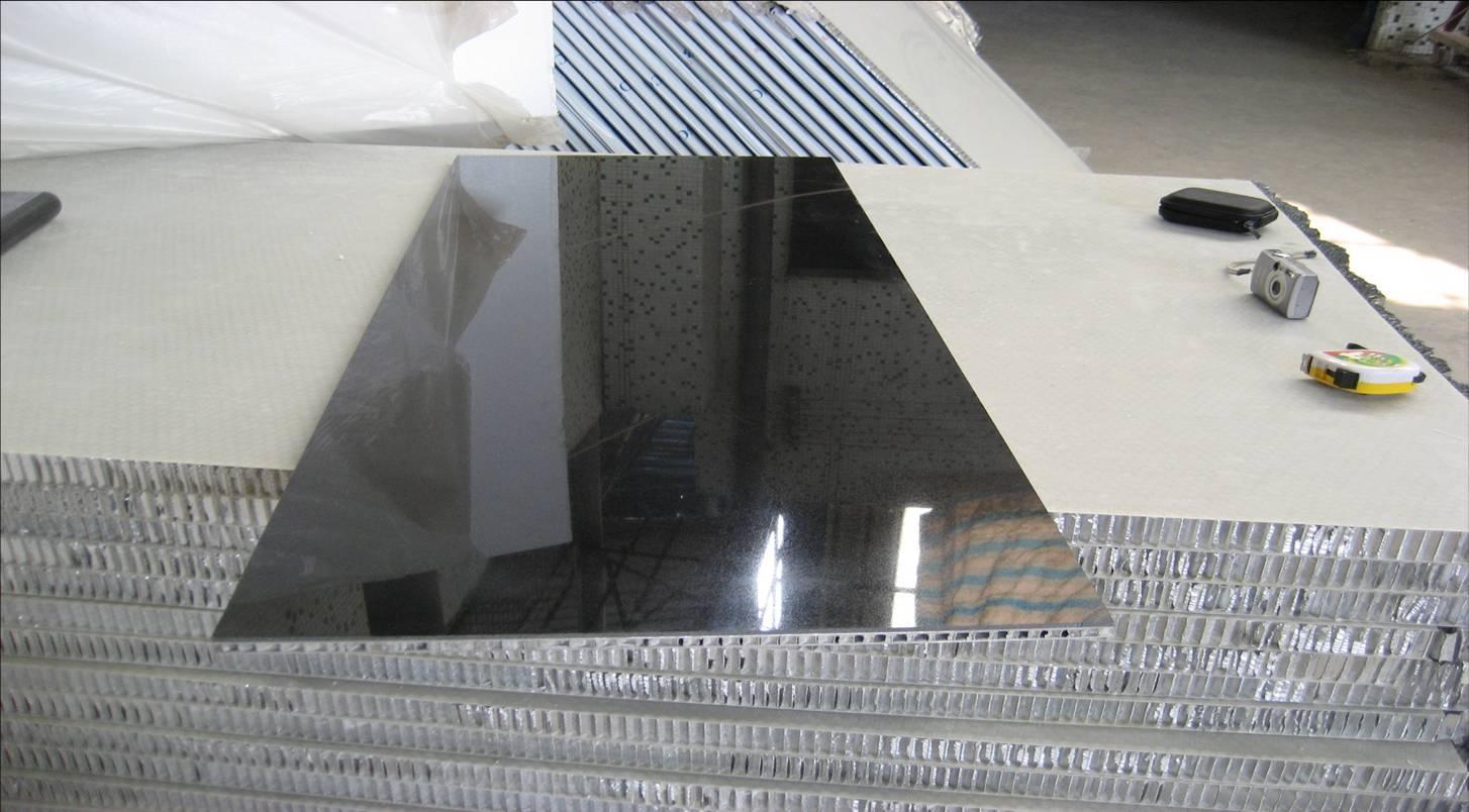 铝塑板招牌骨架结构剖面图