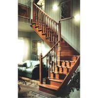 成都升泰-简欧中世纪风格实木楼梯
