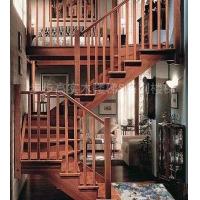 成都升泰简中风格实木楼梯