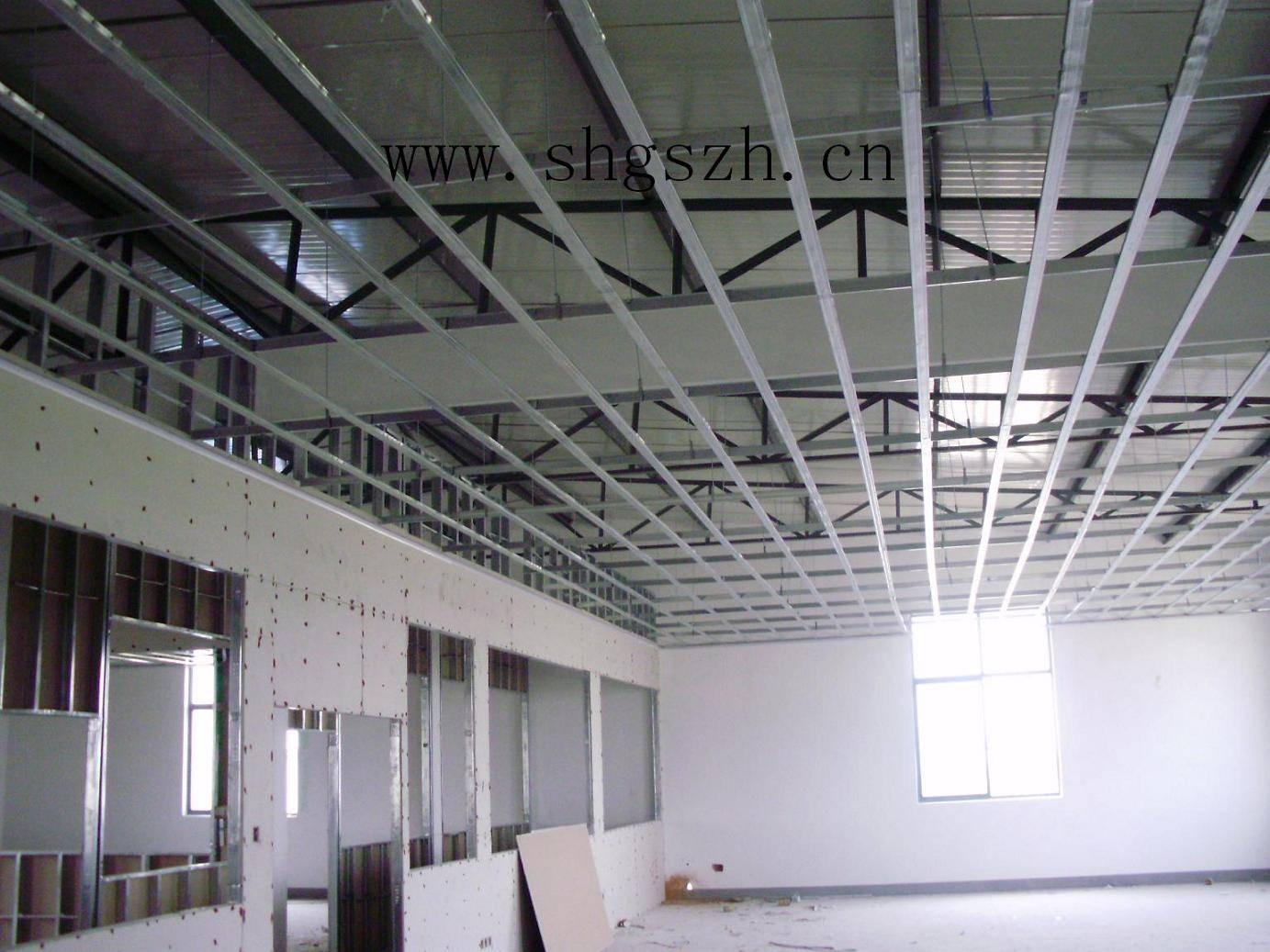 环氧油漆_厂房吊顶 办公室吊顶 上海轻钢龙骨吊顶隔墙隔断 - 九正建材网