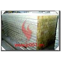 防火岩棉保温隔热彩钢夹芯板\\保温材料