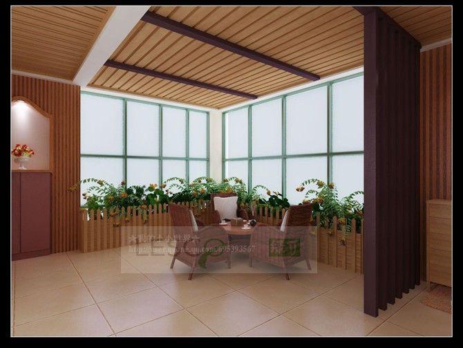 生态木40*50方木 装饰板