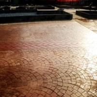 金华周边花园广场最好的压花地坪施工工艺