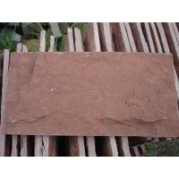 天然文化石厂家红色蘑菇石高粱红蘑菇石文化砖
