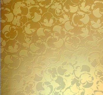 彩色不锈钢蚀刻板是在物件表面通过化学的方法,腐蚀出各种花纹图