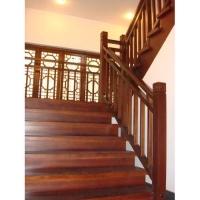 南京红灯木楼梯-L型木楼梯-装修实景图13